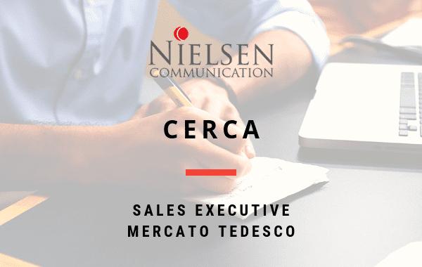 Sales Executive Mercato Tedesco